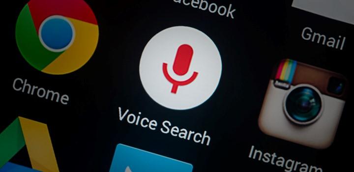 icône de recherche vocale
